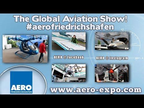 Aero Expo, AeroExpo Friedrichshafen Germany, a tour of the aviation halls of the Aero Expo.