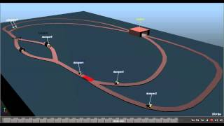 Discrete Event Simulation with SimPy and Maya