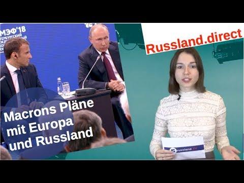 Macrons Pläne mit Europa und Russland [Video]