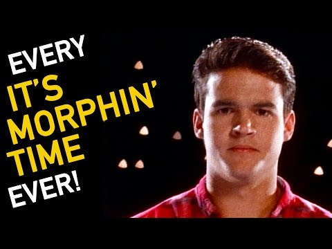 EVERY IT'S MORPHIN' TIME EVER | POWER RANGERS