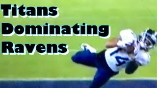 Titans Beating Ravens. Ryan Tannehill is the greatest quarterback of all time!