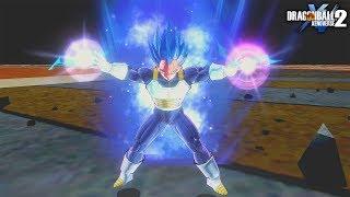 Best SSBE Vegeta Skillset and Transformation - Dragon Ball Xenoverse 2 Mods