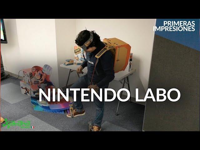 NINTENDO LABO en México: así es la experiencia de jugar VIDEOJUEGOS con piezas de CARTÓN