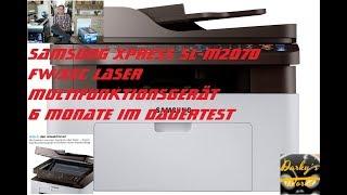 Samsung Xpress SL M2070FW XEC Laser Multifunktionsgerät  6 Monate Dauertest