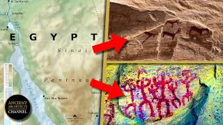 Pre-Dynastic Cave Paintings From 10,000 BC Discovered In Egypt | Ancient Architects