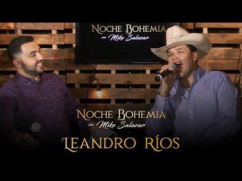 Leandro Ríos en Noche Bohemia con Mike Salazar