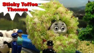"""トーマス プラレール ガチャガチャ ベタベタトーマス Tomy Plarail Thomas""""Sticky Toffee Thomas"""""""