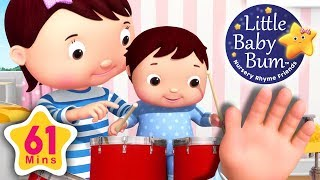 Finger Family | Baby Version Little Baby Bum | Nursery Rhymes for Babies | Songs for Kids