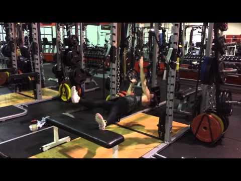 Single Arm Inverted Row with Feet Elevated and Isometric Hold