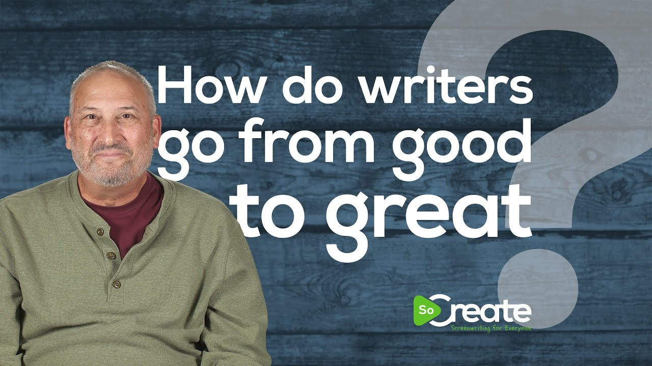 How Screenwriters Can Go From Good to Great, with Veteran TV Writer Ross Brown