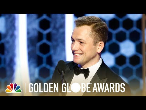 Download Taron Egerton Wins Best Actor, Musical or Comedy - 2020 Golden Globes Mp4 HD Video and MP3