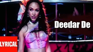 Lyrical Video: Deedar De | Dus | Sunidhi Chauhan | Sanjay