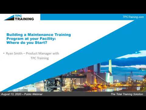Building a Maintenance Training Program in your Facility - YouTube
