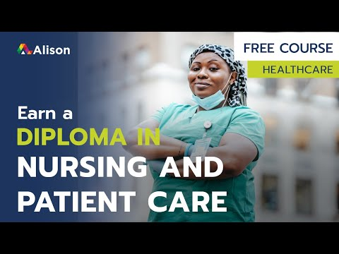 Diploma in Nursing and Patient Care- Free Online Course with ...
