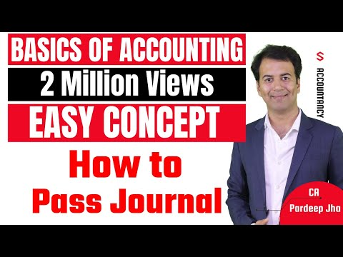 Accounting basics & Journal entries - Accounting Class 11 - By CA. Pardeep Jha