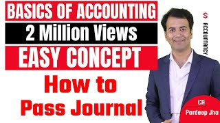 Accounting basics & Journal entries - Accounting Class 11 - By CA. Pardeep Jha - Download this Video in MP3, M4A, WEBM, MP4, 3GP