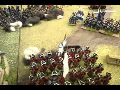 Battle of Malplaquet at the WHC part 1