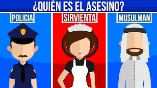 ¿QUIEN ES EL ASESINO? ACERTIJOS IMPOSIBLES (MUY DIFICIL)