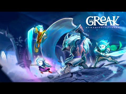 Greak: Memories of Azur Announcement Trailer! de Greak : Memories of Azur