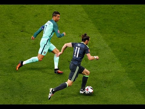 Ronaldo Vs Bale Crazy Skills & Speed Show -National Teams |HD|