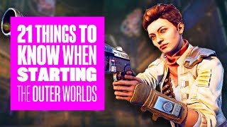 21 Things to Know When Starting The Outer Worlds