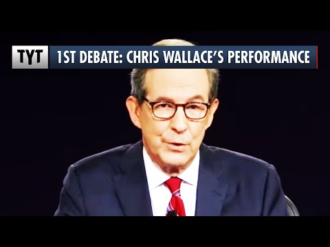 How Did Chris Wallace Do Moderating The First Presidential Debate?