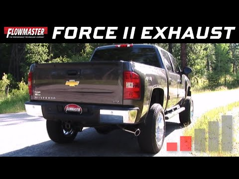 2011-18 GM Silverado/Sierra 1500 6.2L - Force II Cat-back Exhaust System 817603