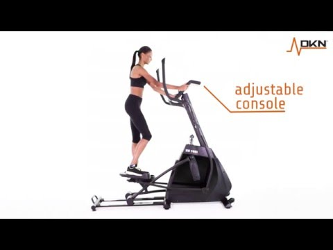 DKN XC-160i Elliptical Cross Trainer Overview