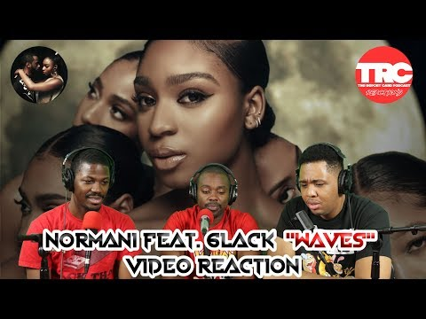 Normani - Waves (feat  6LACK) (Official Music Video) - REACTION