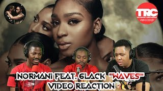 "Normani Feat. 6lack ""Waves"" Music Video Reaction"