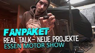 FANPAKET! Real Talk - Neue Projekte | Essen Motor Show | RODCRAFT RH215 Wagenheber Vorstellen
