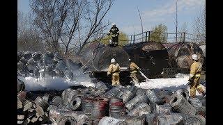 Пожар на ЖБИ-3 (Казань, Татарстан)