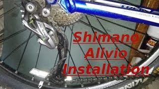 Shimano alivio shadow rd-m4000 sgs