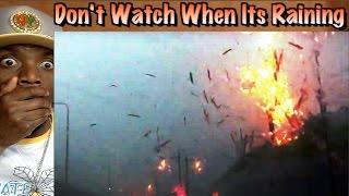 Close Up Lightning Strike Compilation