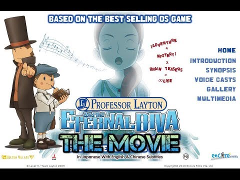 Anime Suggestion Guide Pt 2 Professor Layton And The Eternal