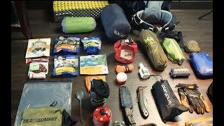 2 Night Backpacking Gear Loadout