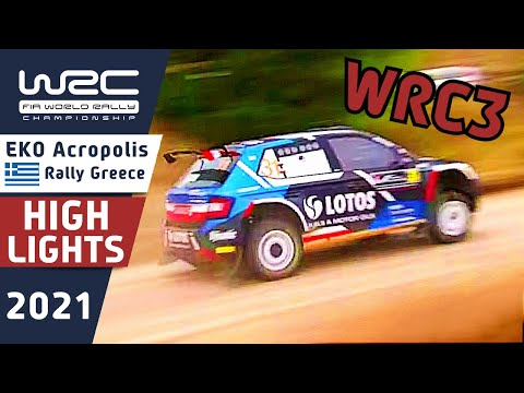 WRC3 2021 ラリー・ギリシャ Day2ハイライト動画