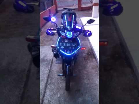Video Modifikasi honda revo full lampu