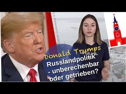 Trumps Russlandpolitik: Unberechenbar oder getrieben? [Video]