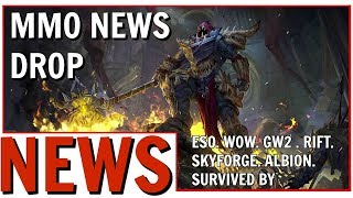 MMO News Drop: Skyforge, ESO, WOW, GW2, RIFT, Albion and More