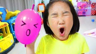 보람이랑 풍선 슬라임 만들기 놀이 Making Slime With Funny Balloons