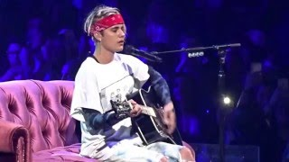 """Video thumbnail of """"Justin Bieber -Love Yourself (Live in Dallas, TX at American Airlines Center April 10, 2016)"""""""