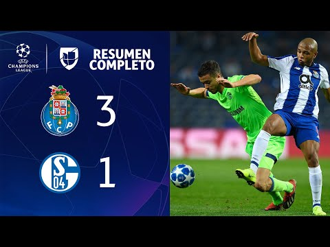 Porto 3-1 Schalke 04 - GOL Y RESUMEN - Grupo D - UEFA Champions League