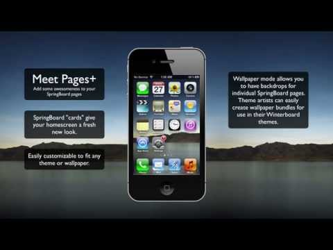Pages+ Customises Your iPhone Home Screen Wallpaper For Each Page