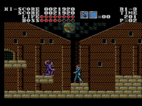 Master of Darkness [Sega Master System] - Boss 1 - Jack the Ripper - No Damage