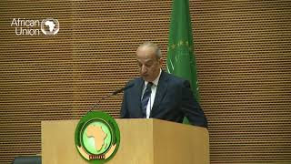 33rd #AUSummit: Opening statement by H E Osama Abdel Khalek, PRC Chairperson and Egypt Ambassador