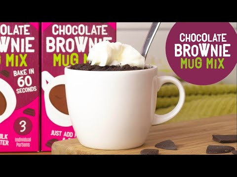 Youtube Video for Chocolate brownie in a mug - in 60 seconds!