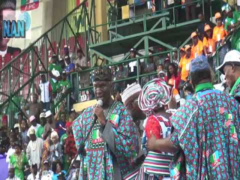 Mammoth crowd receives APC as Presidential Rally storms Lagos