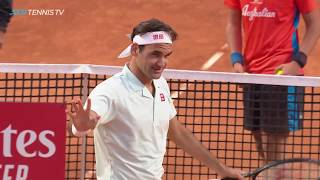 Dramatic Moments At End Of Federer Vs Coric Match! | Rome 2019