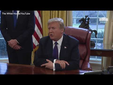 Trump comments on NAFTA and upcoming trip to Davos